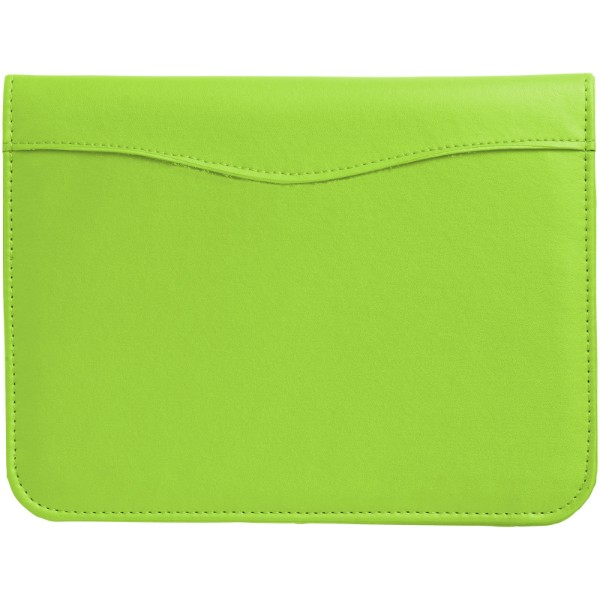 "Portafolios A5 ""Ebony"" - Verde Manzana"