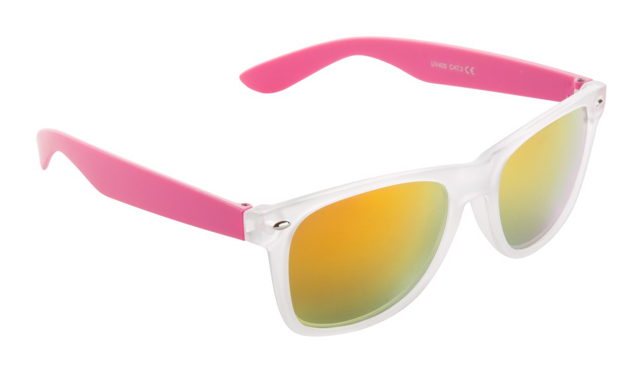 Sluneční Brýle Harvey - Růžová / Ledově Bílá