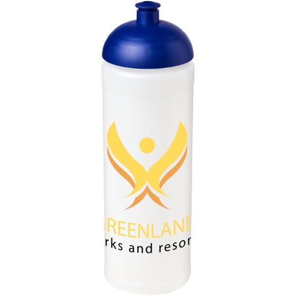 Sportovní láhev s kupolovitým víčkem Baseline® Plus grip 750 ml - Průhledná / Modrá