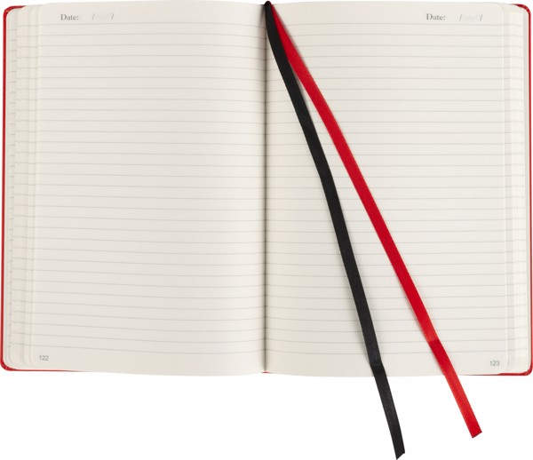 Cardboard notebook - Black