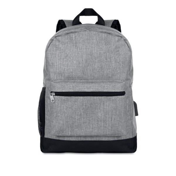 Plecak z zabezpieczeniem Bapal Tone - szary