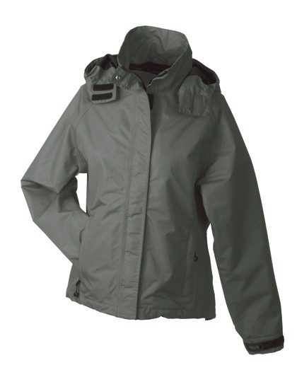 Ladies` Outer Jacket - Olive / M