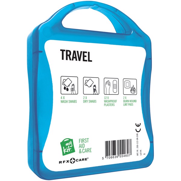 MyKit Travel First Aid Kit - Blue