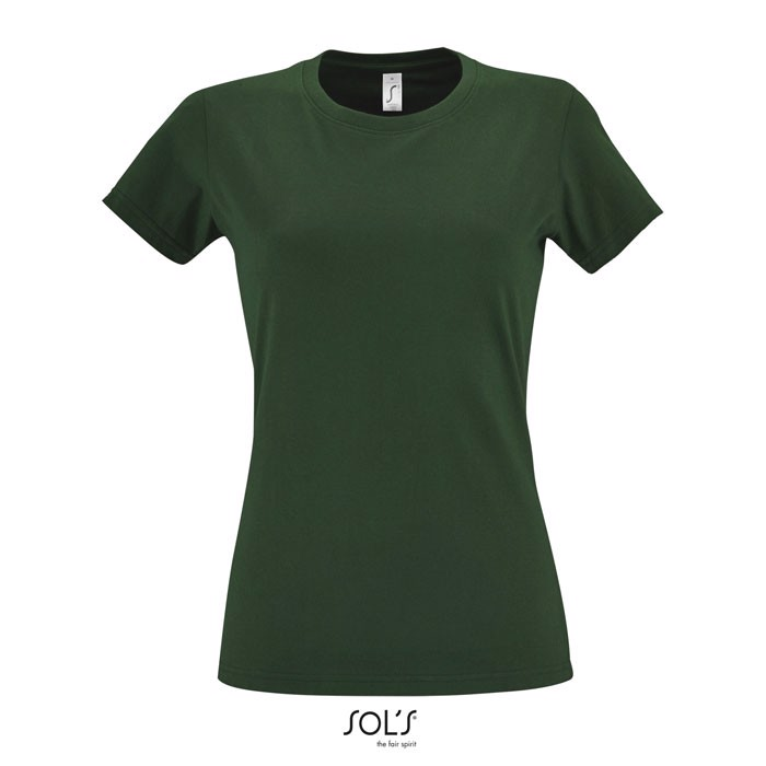 IMPERIAL CAMISETA MUJER190g Imperial Women - Verde Botella oscuro / M