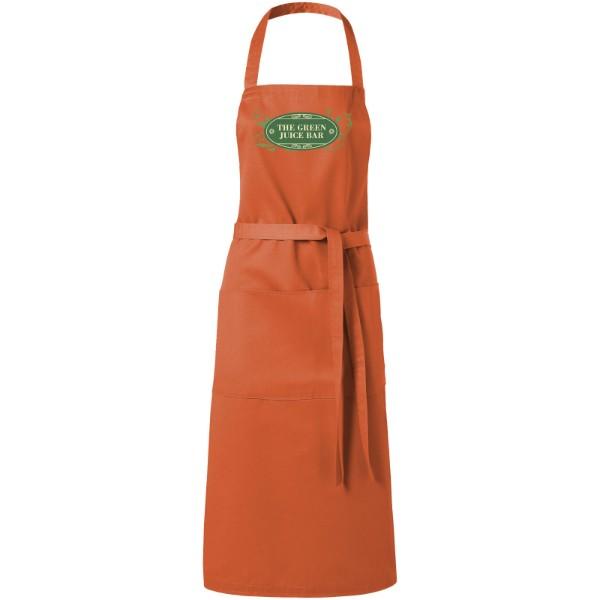Viera apron with 2 pockets - Orange