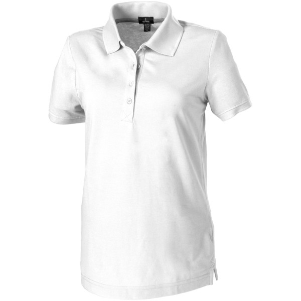 Crandall short sleeve women's polo - White / XS