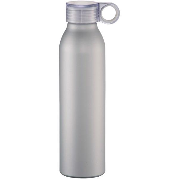 Grom 650 ml Aluminium Sportflasche - Silber