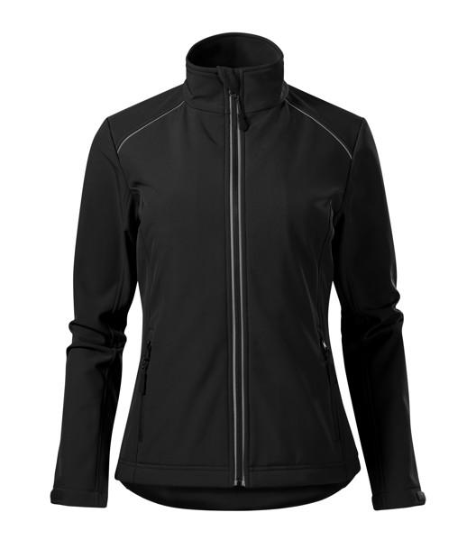 Softshellová bunda dámská Malfini Valley - Černá / 2XL