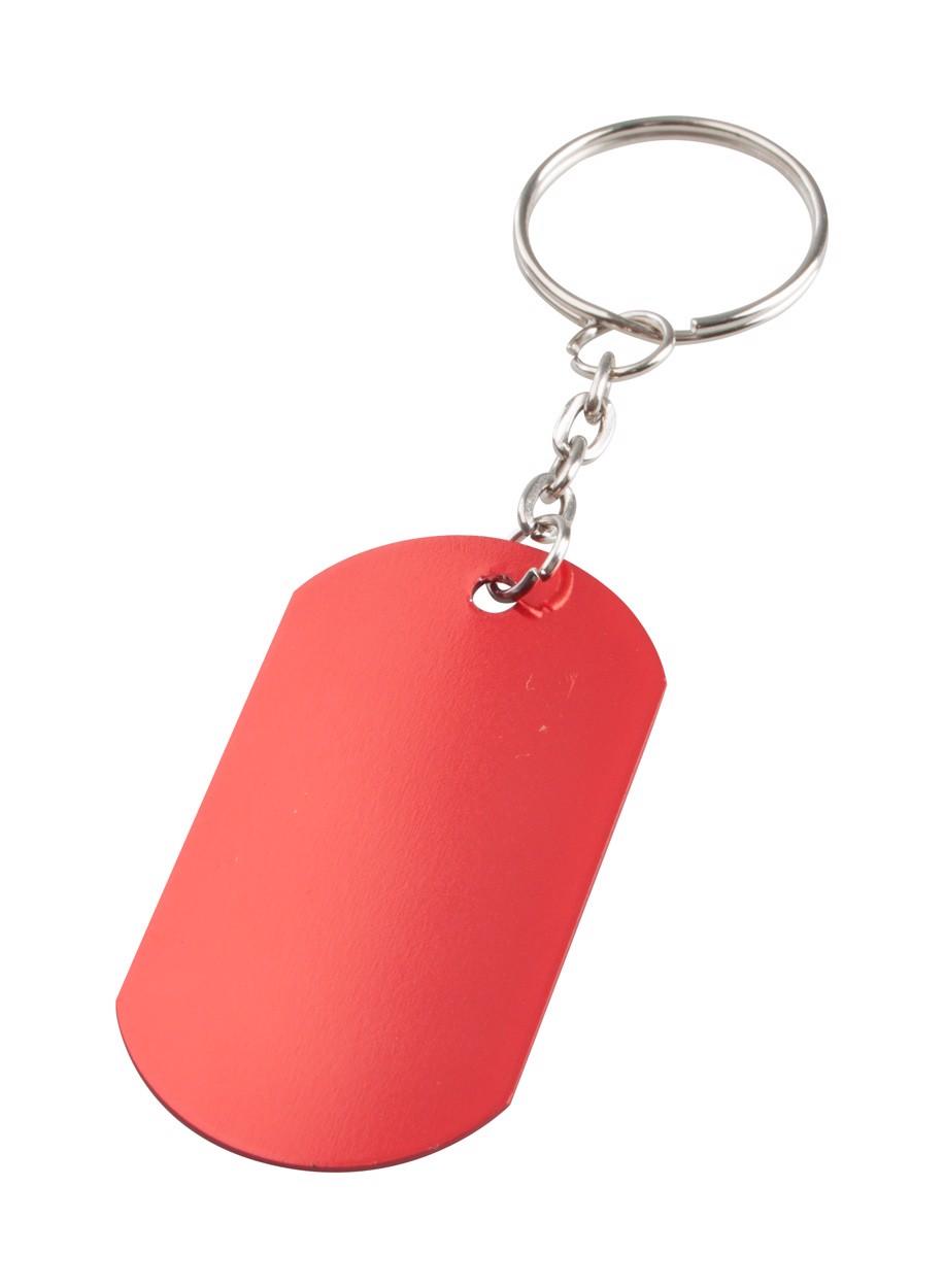 Přívěšek Na Klíče Nevek - Červená