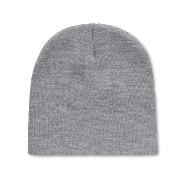 Beanie in RPET polyester Marco Rpet - White / Grey