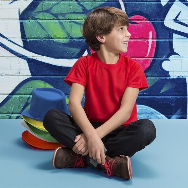T-Shirt Criança Tecnic Rox - Vermelho / 4-5