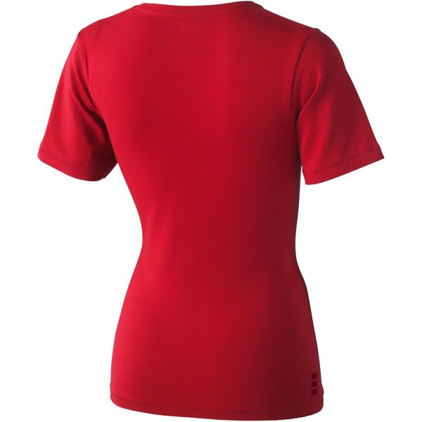 Kawartha short sleeve women's GOTS organic t-shirt - Red / XXL
