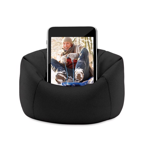 Puffy smartphone holder - Black