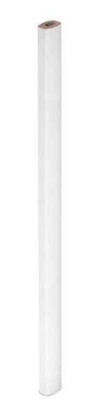GRAFIT COLOUR. Tesařská tužka - Bílá