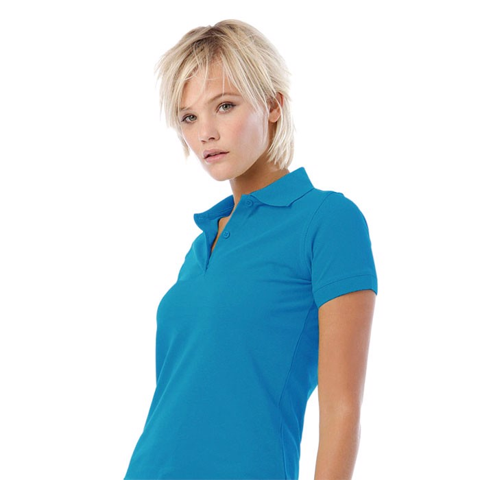 Damen Polo-Shirt 180 g/m2 Safran Pure Women Polo Pw455 - Atoll / XS