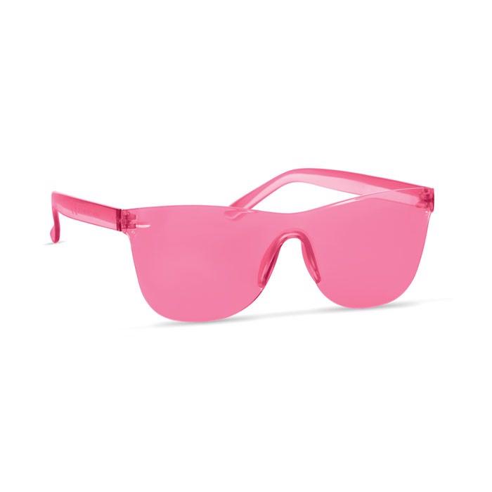 Okulary przeciwsłoneczne Cos - przezroczysty czerwony
