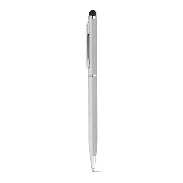 ZOE. Ball pen in aluminium - Satin Silver