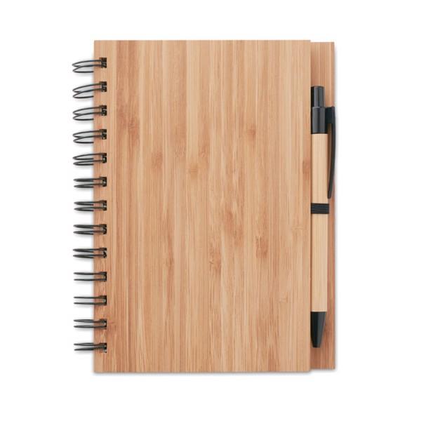 Notatnik bambusowy Bambloc