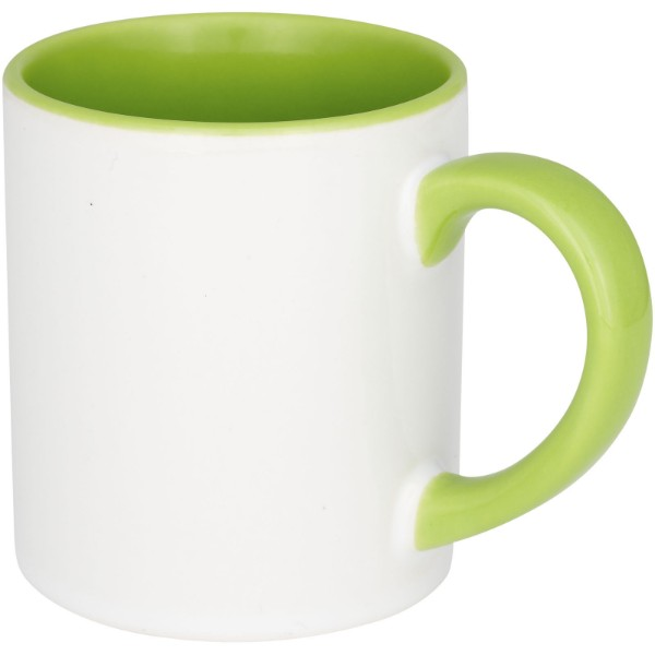 Pixi 250 ml mini ceramic sublimation colour-pop mug - Lime