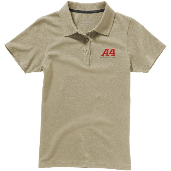 Seller short sleeve women's polo - Khaki / XL