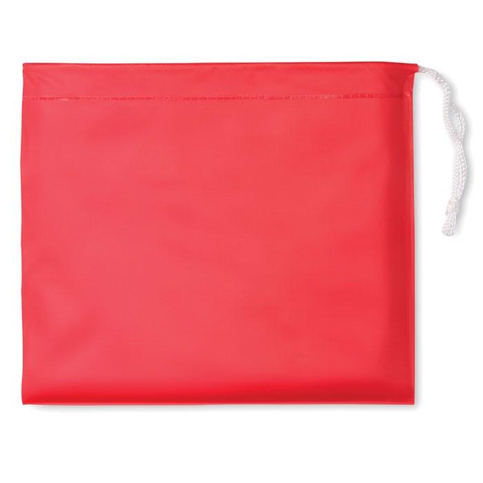 Pláštěnka v pouzdře Regal - red