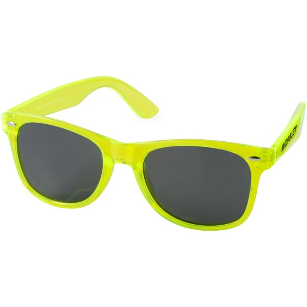 Sun Ray sunglasses with crystal frame - Lime