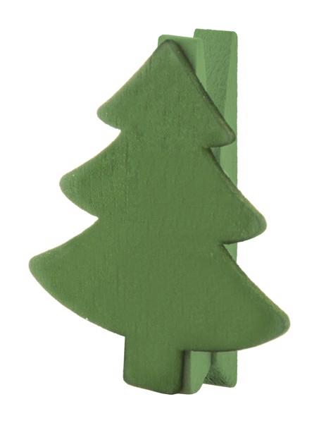 Christmas Clip Hantala, Tree - Green