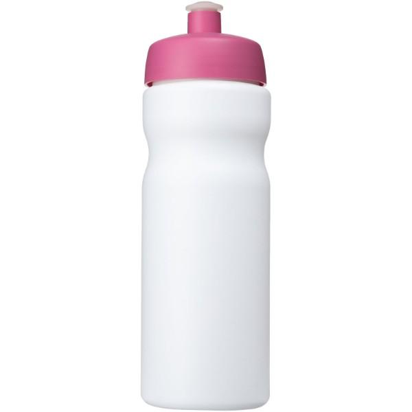 Baseline® Plus 650 ml sport bottle - White / Pink
