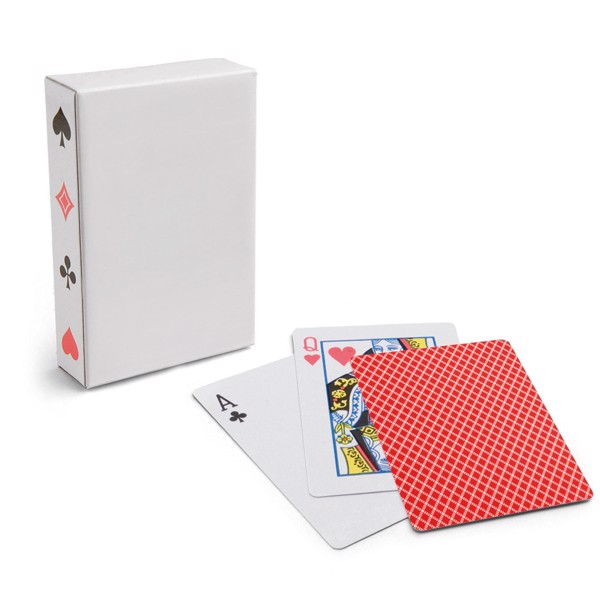 CARTES. Pack of 54 cards - Red