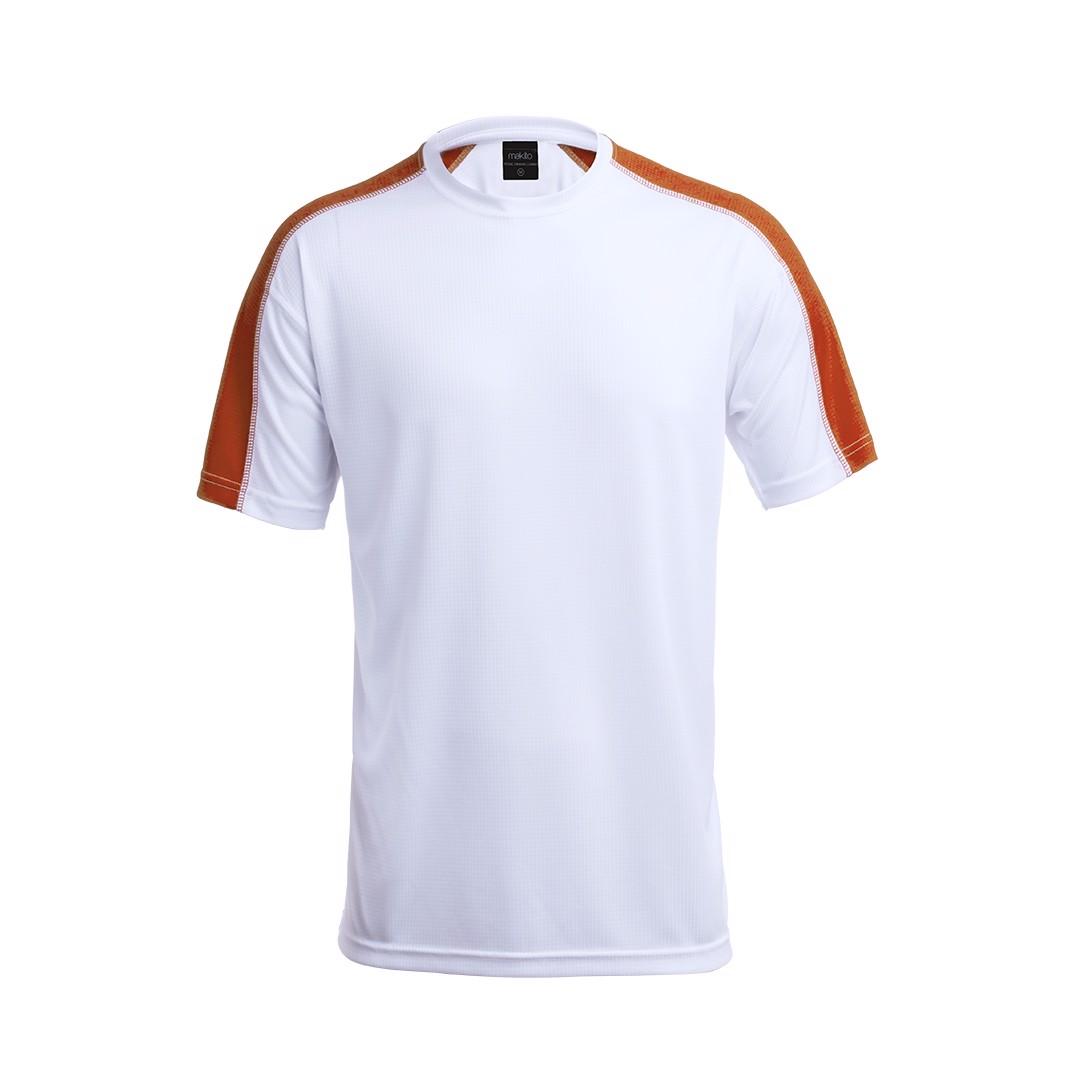 Camiseta Adulto Tecnic Dinamic Comby - Naranja / S