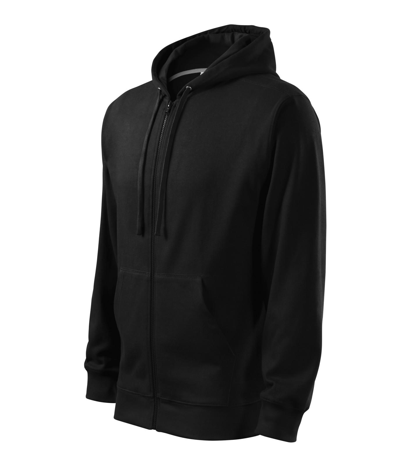 Mikina pánská Malfini Trendy Zipper - Černá / XL