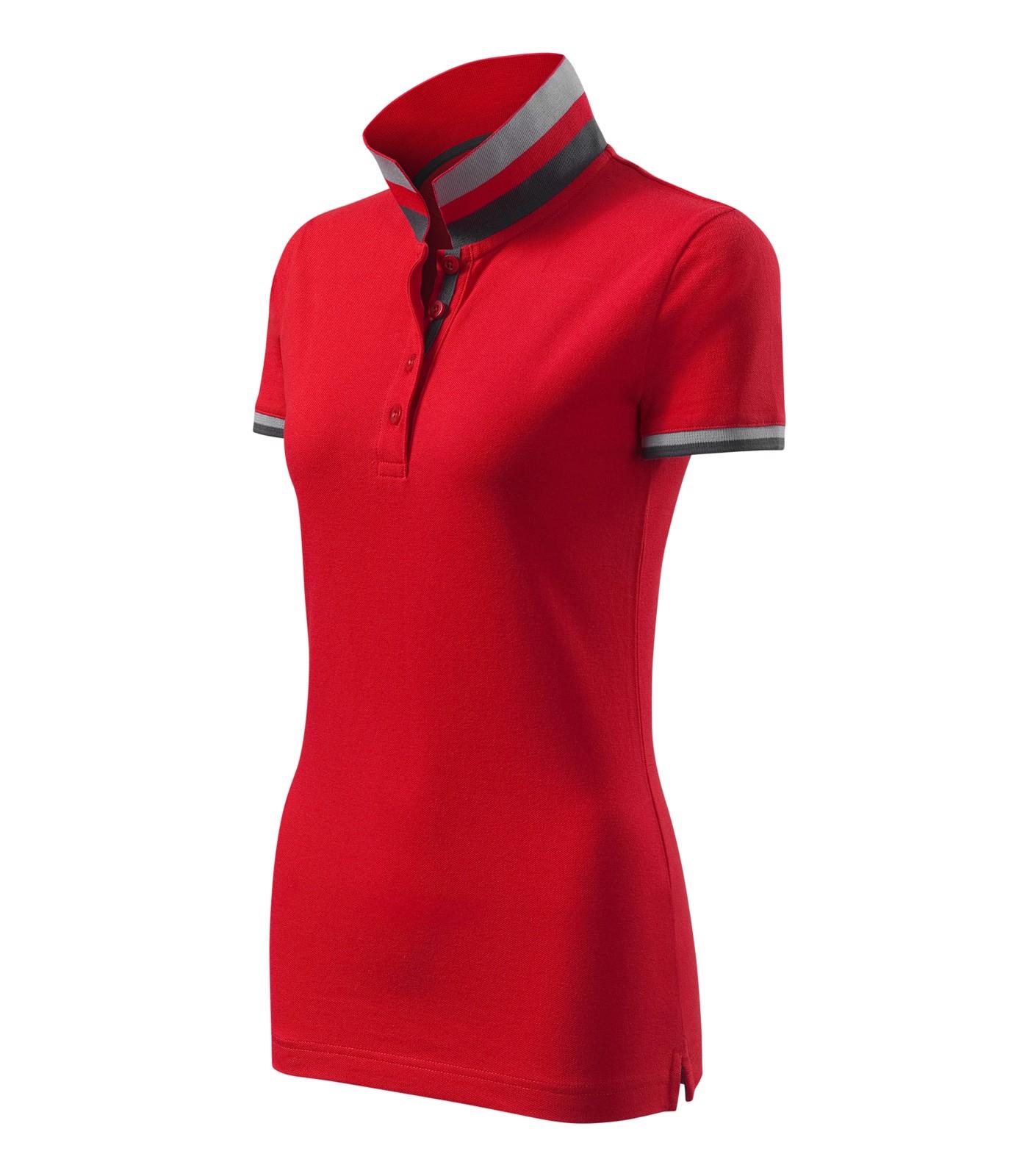 Polokošile dámská Malfinipremium Collar Up - Formula Red / L