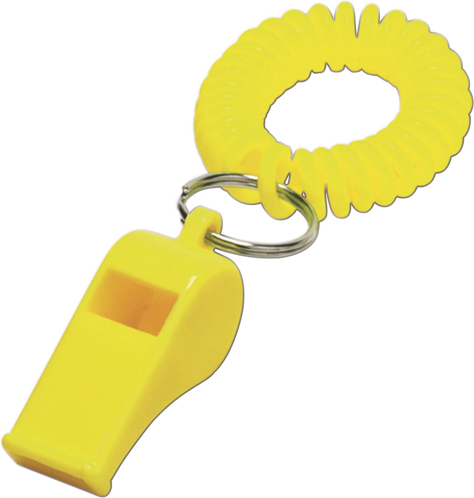ABS whistle - Yellow