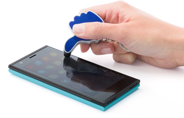 ABS 2-in-1 key holder - Lime