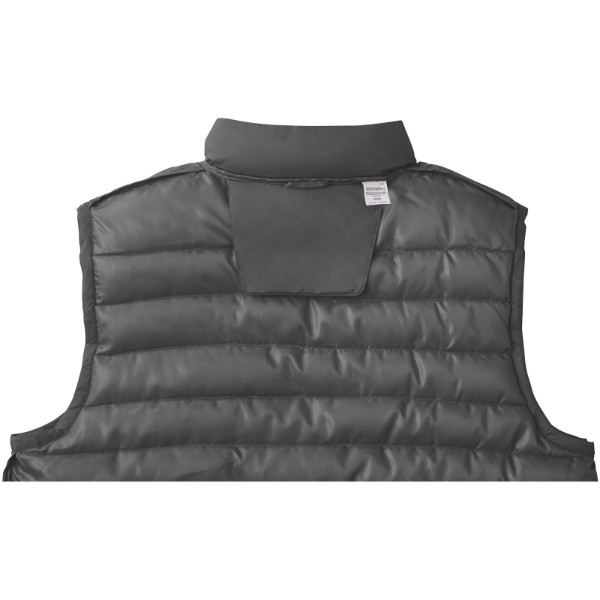 Pallas men's insulated bodywarmer - Storm Grey / XL