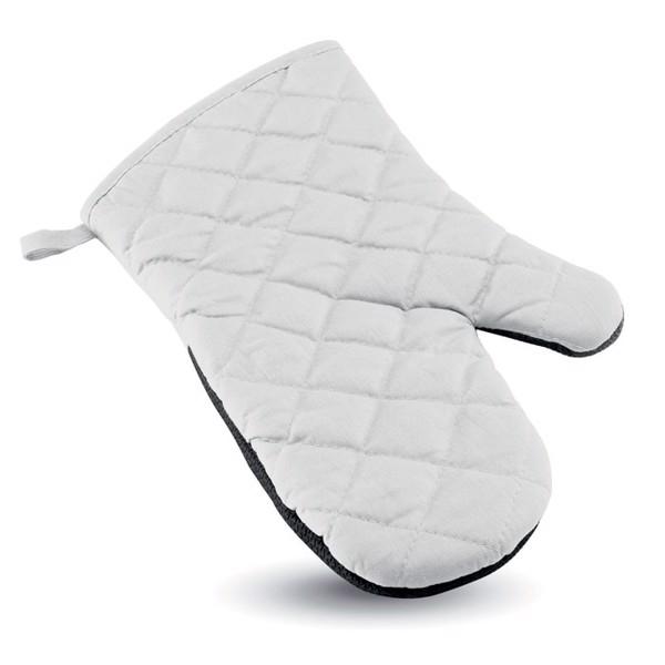 Pogumovaná kuchyňská rukavice Neokit - white