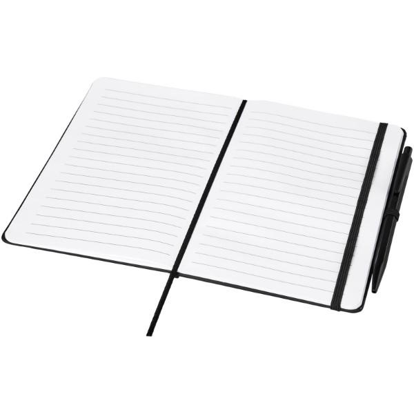 Zápisník Prime střední velikosti s perem - Černá