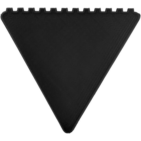 Skrobaczka do szyb trójkątna Frosty - Czarny