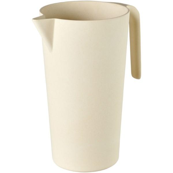 Hermes 1,7 Liter Karaffe aus Bambusfaser - Beige