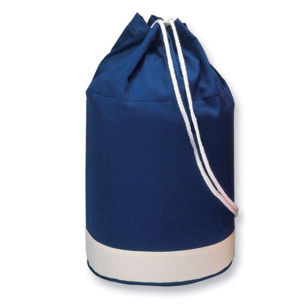 Cotton duffle bag bicolour Yatch
