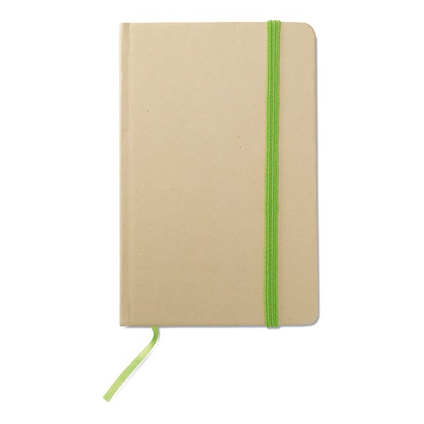 Recycled material notebook Evernote - Lime