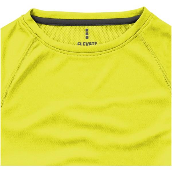 Niagara short sleeve women's cool fit t-shirt - Neon Yellow / S