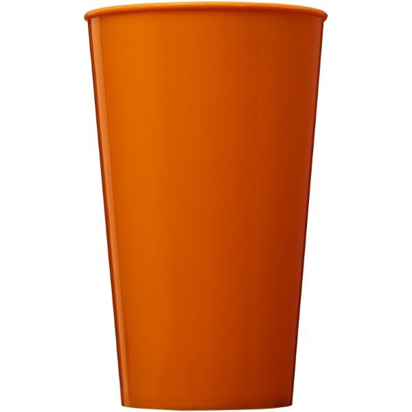 Plastový kelímek Arena 375 ml - 0ranžová