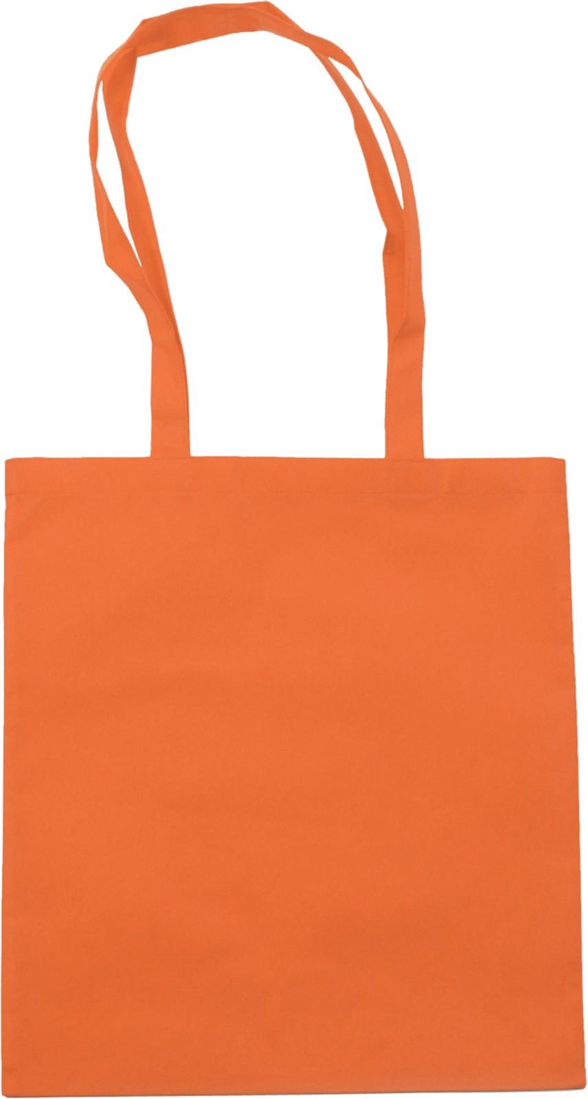 Nonwoven (80 gr/m²) shopping bag - Orange