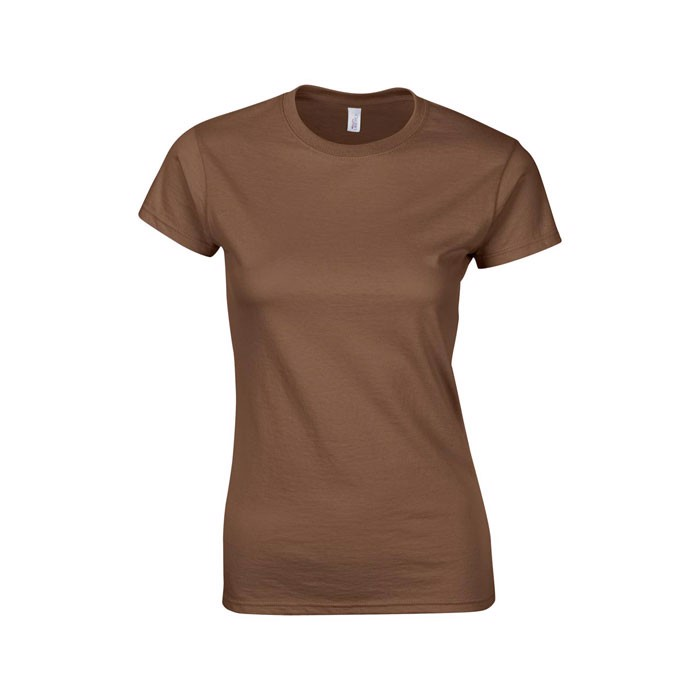 Ladies t-shirt 150 g/m² Lady-Fit Ring Spun 64000L - Chestnut / XXL