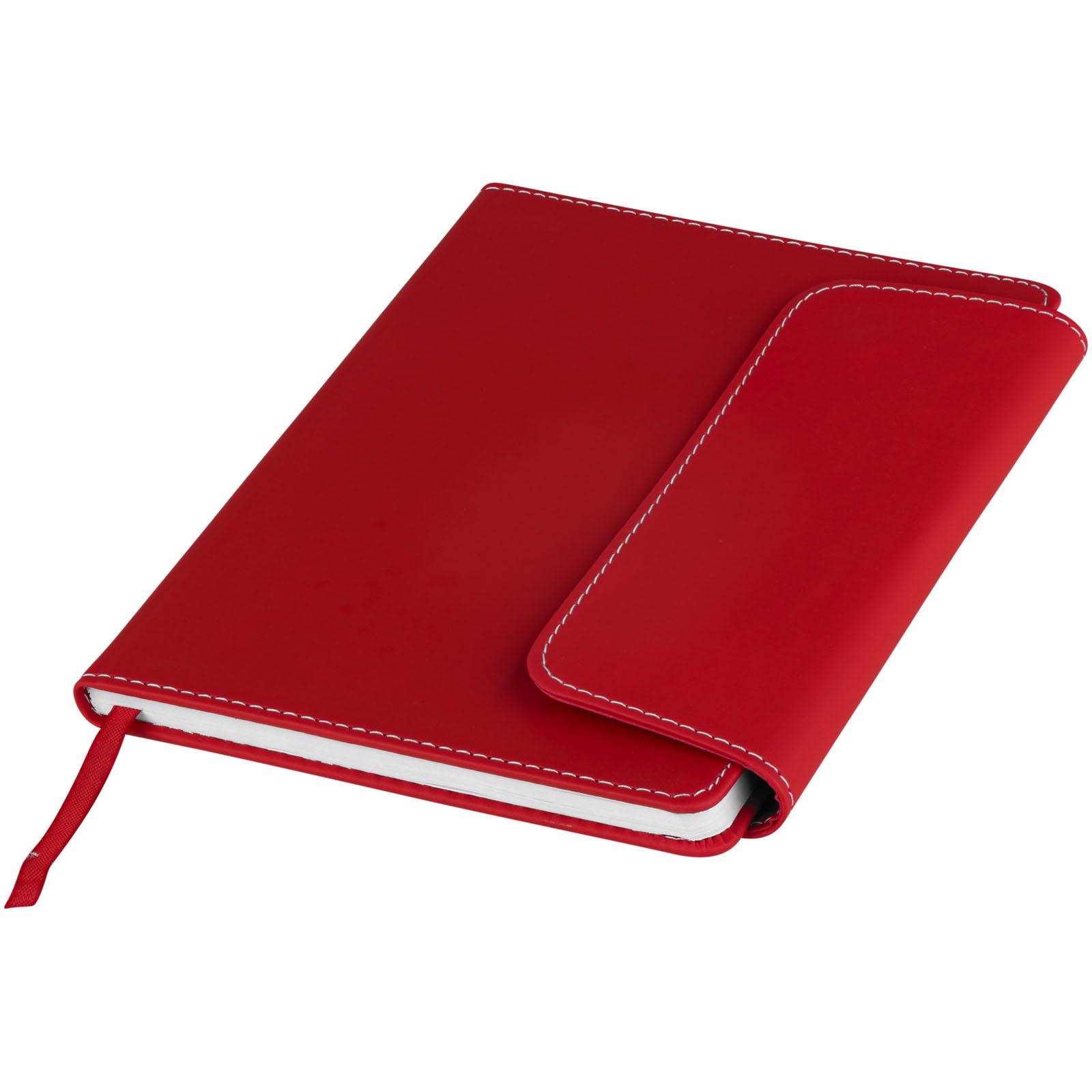 Notes A5 i długopis ze stylusem Horsens - Czerwony