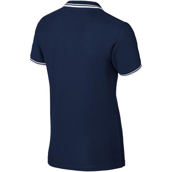 Deuce Poloshirt mit weißem Rand für Herren - Navy / XL