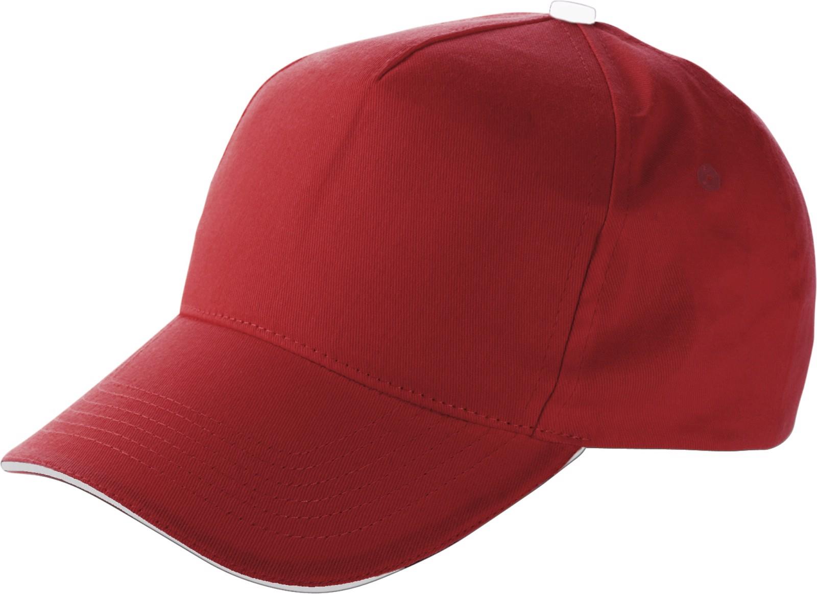 Cotton cap - Red