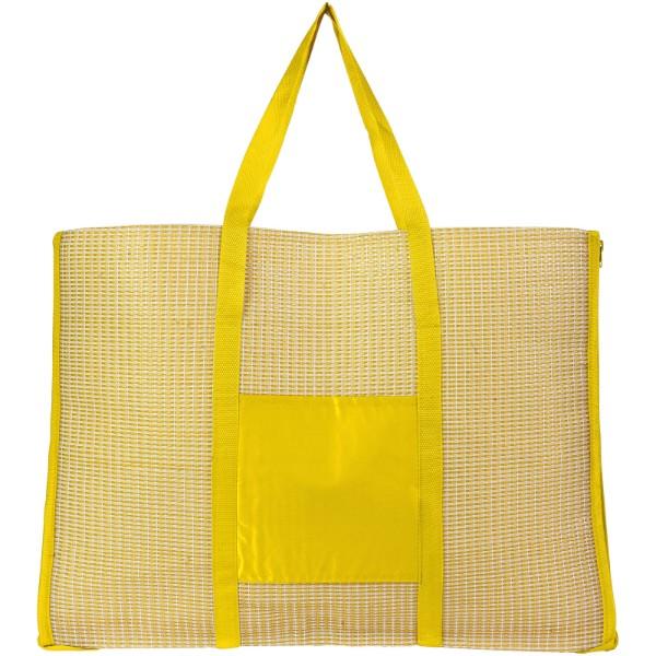 Skládací plážová taška a podložka Bonbini - Žlutá
