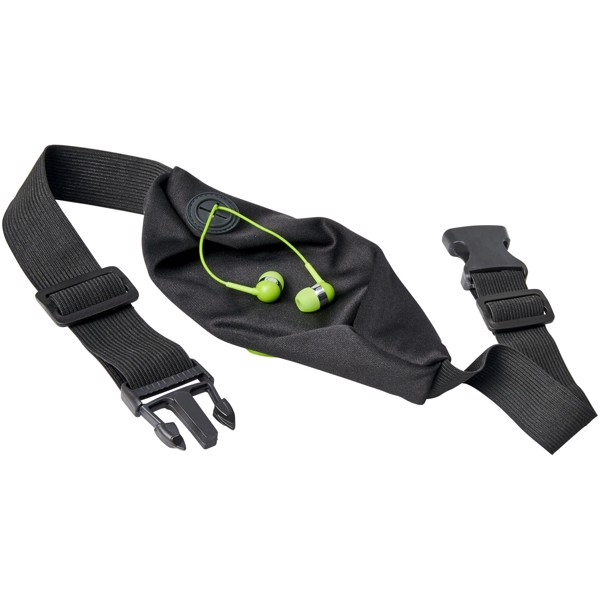 Flexibilní sportovní ledvinka Nicolas - Limetka